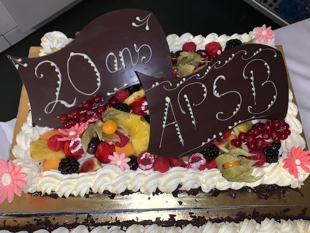 Gâteau 20 ans APSB